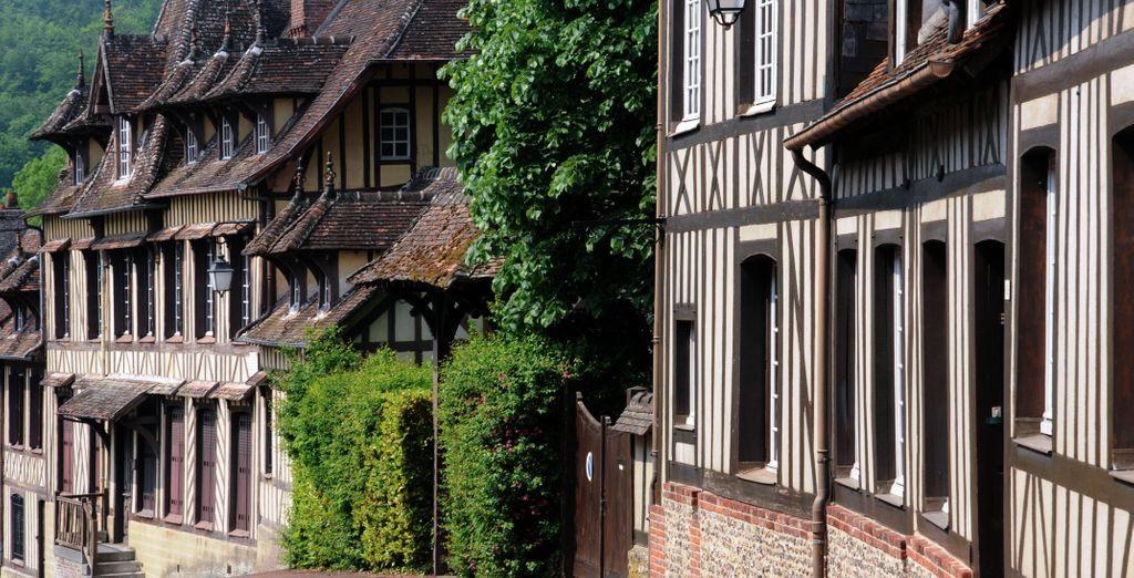 Et ses maisons typiquement normandes