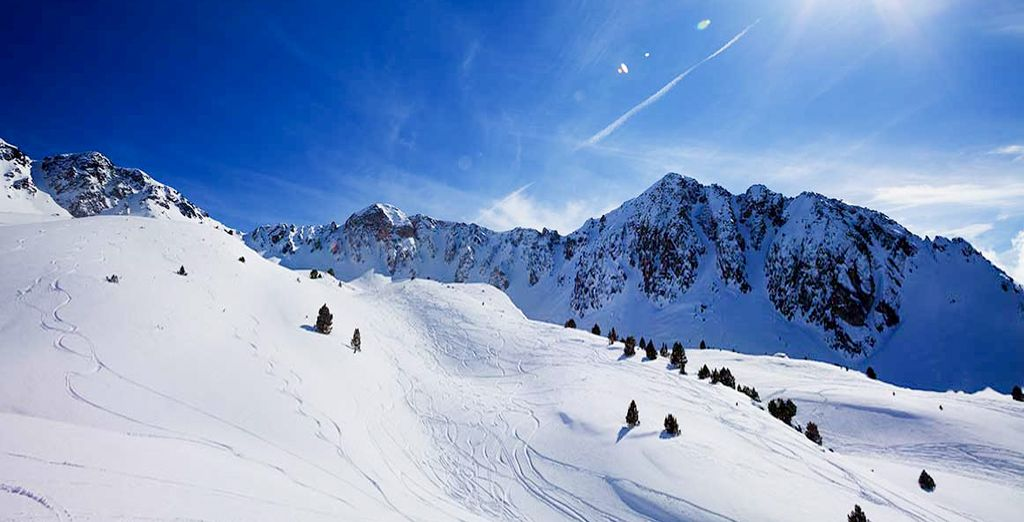 Faites du ski dans les Pyrénées