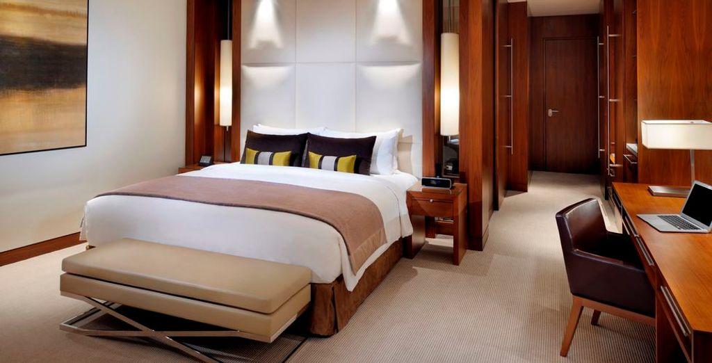 Où vous poserez vos valises dans une chambre au confort haut de gamme