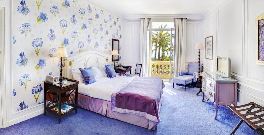 ou encore la chambre Exclusive Vue Mer.