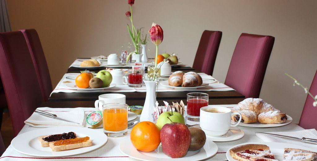 Profiterez de votre formule petit-déjeuner