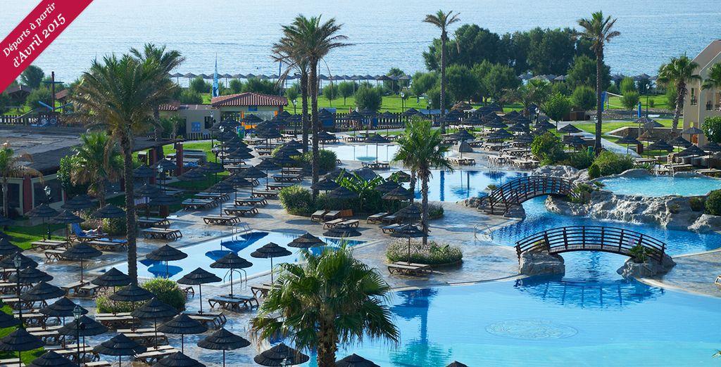 Et si vous prépariez votre prochaine escapade en famille ? - Hôtel Atlantica Club Aegean Blue 5* Rhodes