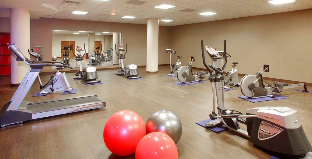 Les plus sportifs pourront s'exercer dans la salle de fitness