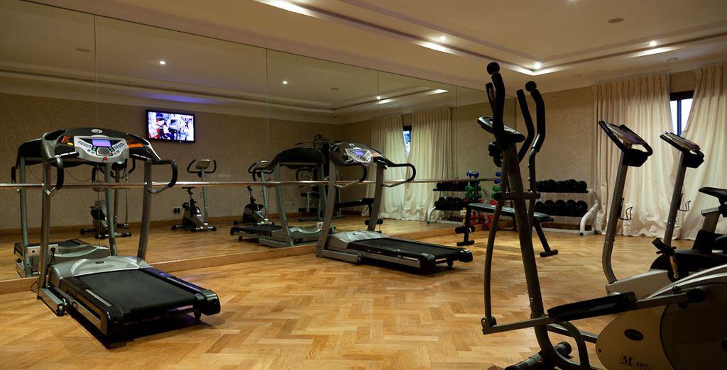 Prenez soin de vous dans la salle de fitness