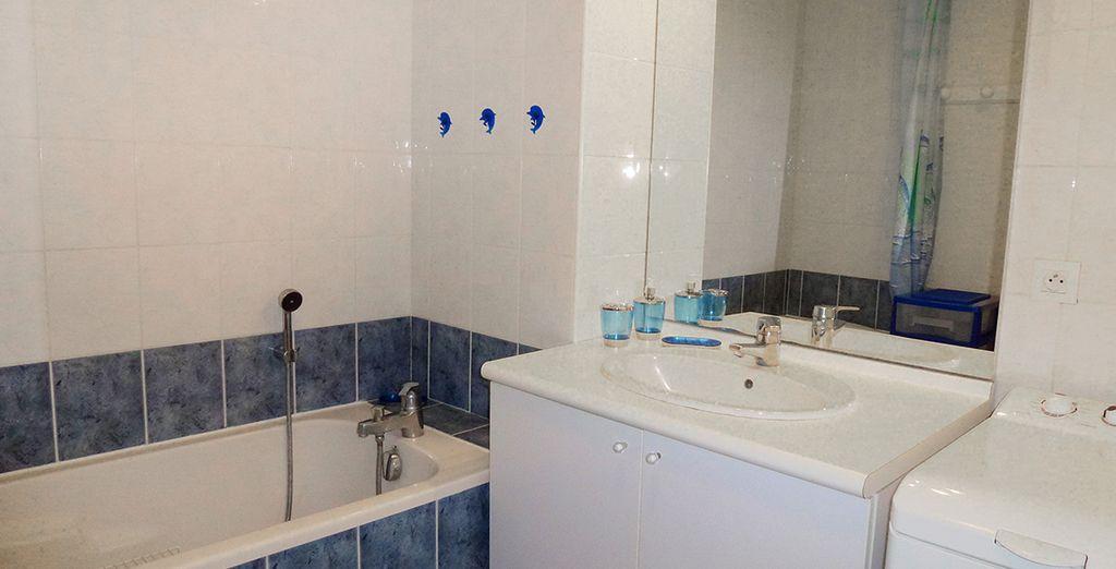La salle de bains fonctionnelle