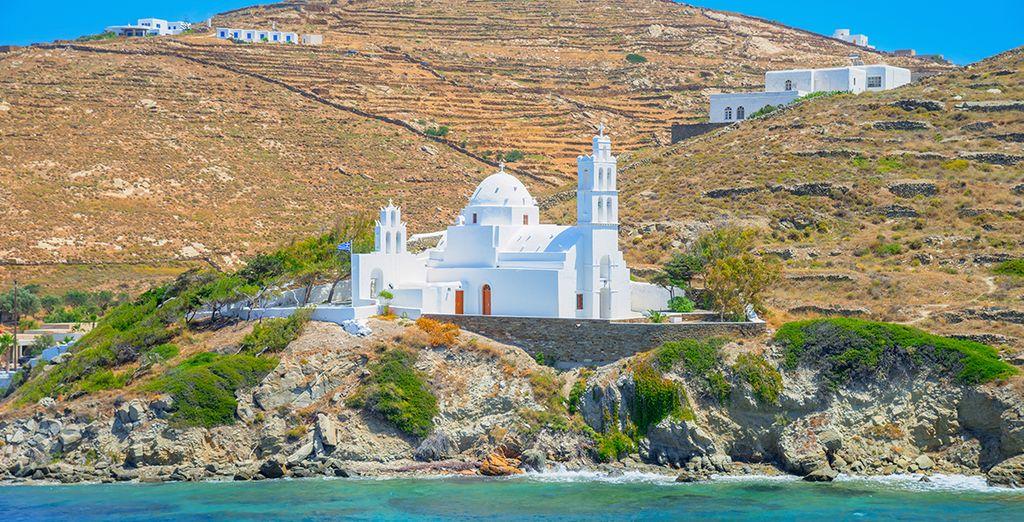 Sur la sublime île de Paros !