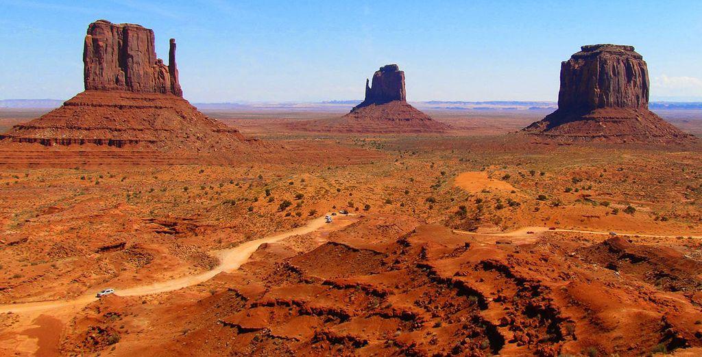 Avant de vous émerveiller devant la Monument Valley