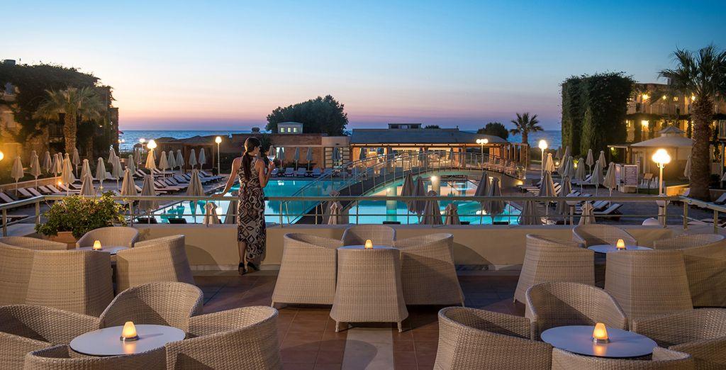 Situé au bord de la mer Egée