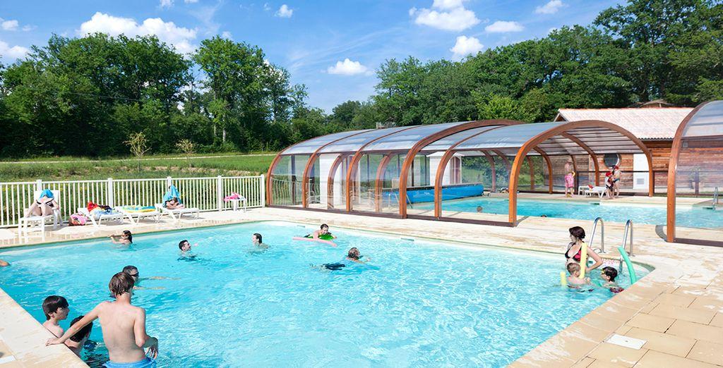 Vous embarquerez pour un séjour original et amusant. N'oubliez pas la piscine !