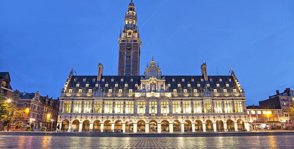 Où un fabuleux patrimoine architectural s'offre à vous....