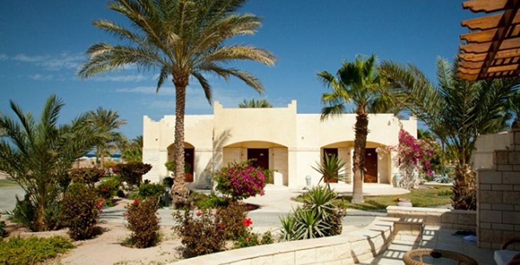 Les bungalows à l'architecture locale - Coral Beach Rotana Resort **** Hurghada