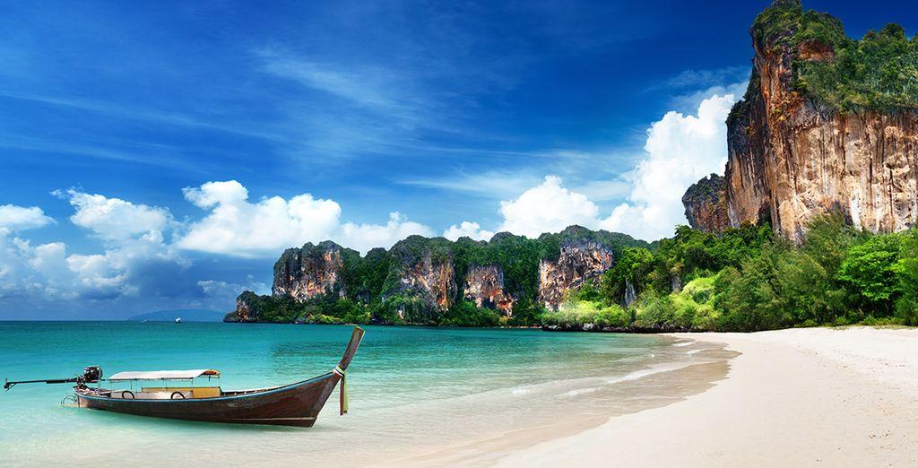 A proximité de Krabi et de ses paysages fantastiques