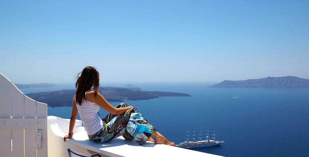 Pour vous offrir le meilleur qui soit pour votre séjour à Santorin