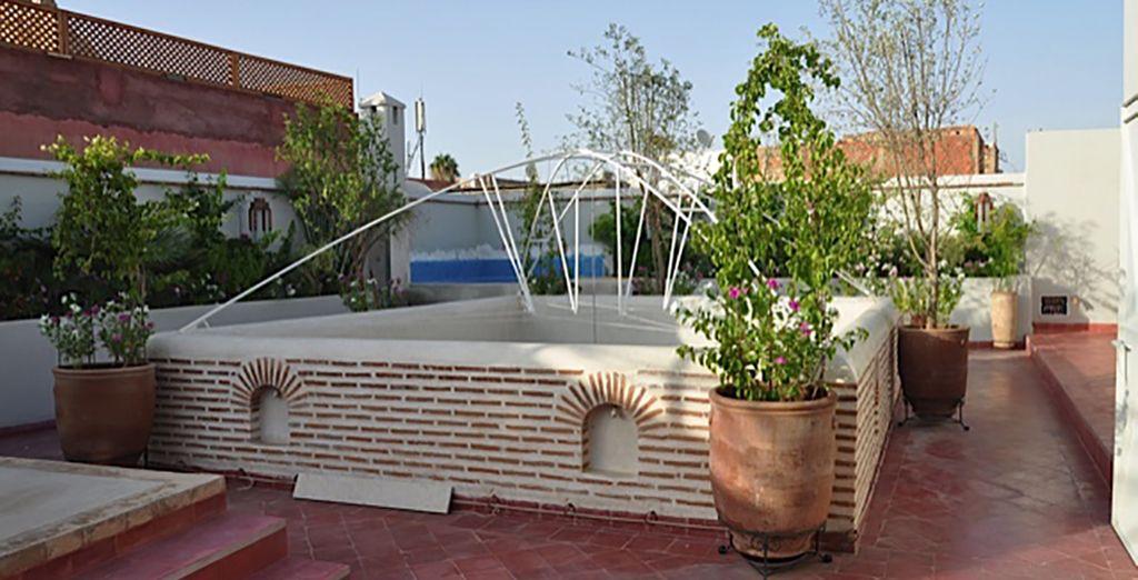 Alors posez vos valises au Riad Mirage