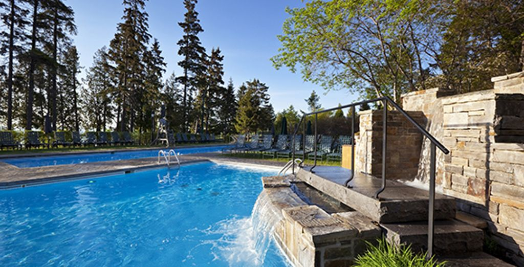 Fairmont Manoir Richelieu : la piscine