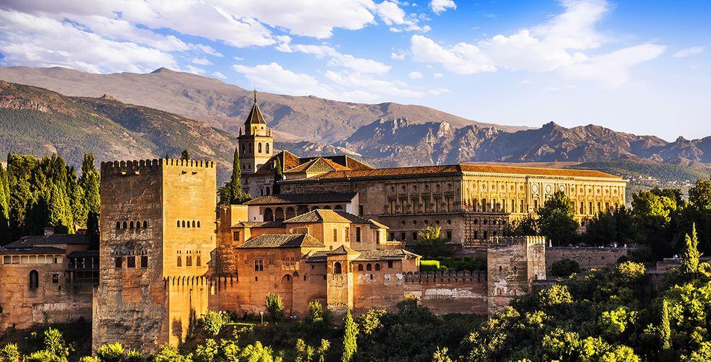 le palais de l'Alhambra ... La région a tant à vous offrir !