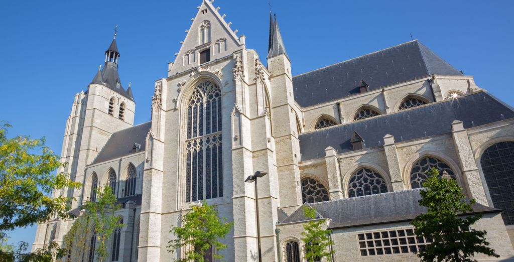 La cathédrale Saint Rombaut est sublime de jour...