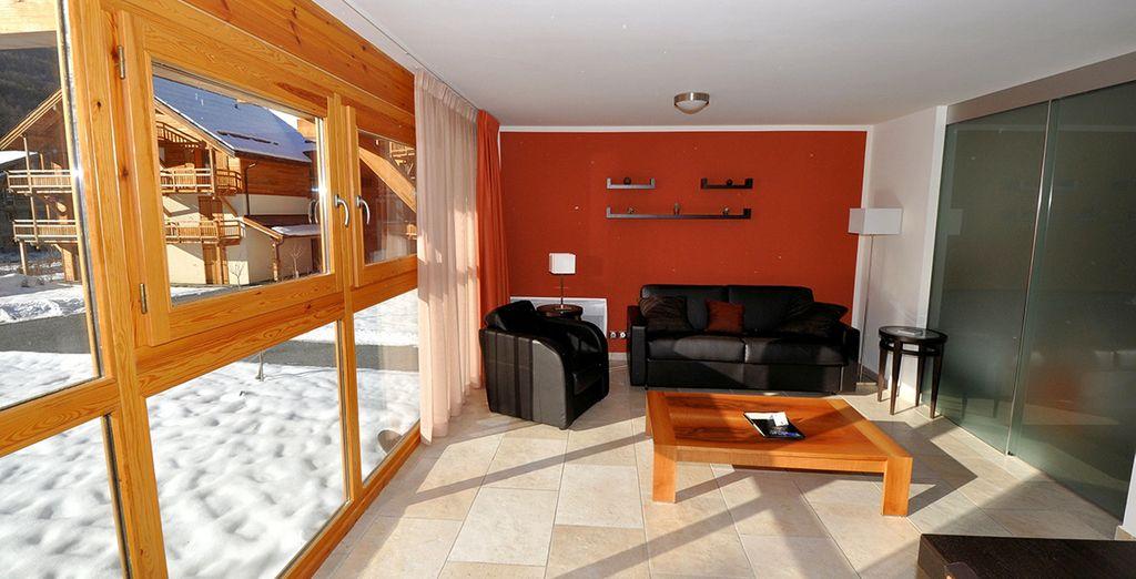 Découvrez votre appartement, moderne et cosy - Résidence l'Adret Saint Chaffrey
