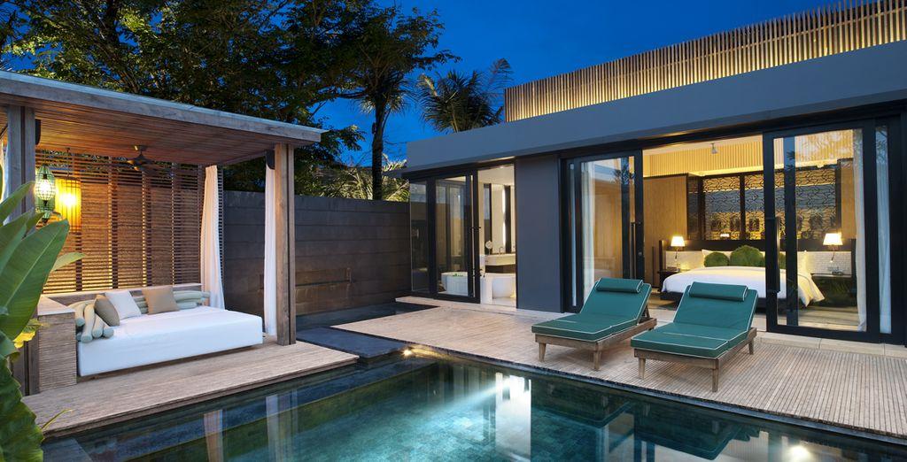 Où savourez l'intimité absolue que vous offre la One Bedroom Villa !