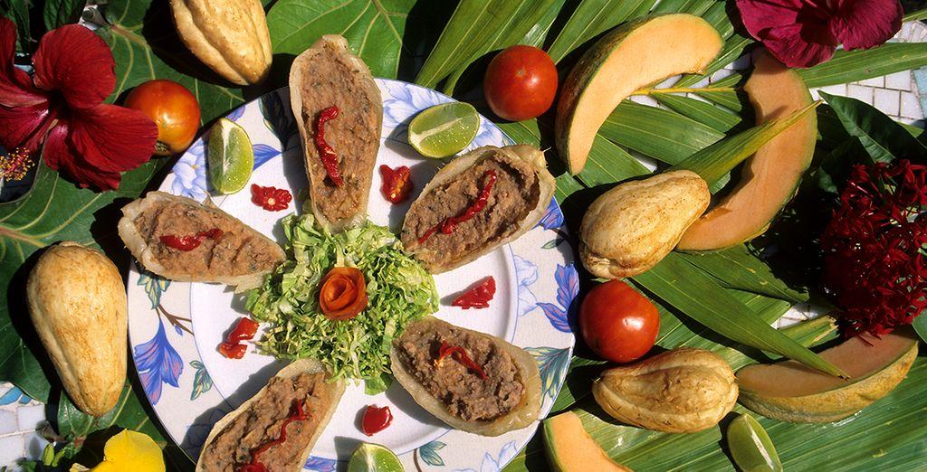 Goûter les spécialités guadeloupéenne avec Voyage Privé*