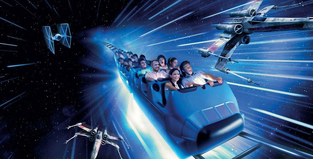 Découvrez le nouveau Star Wars Hyperspace Mountain