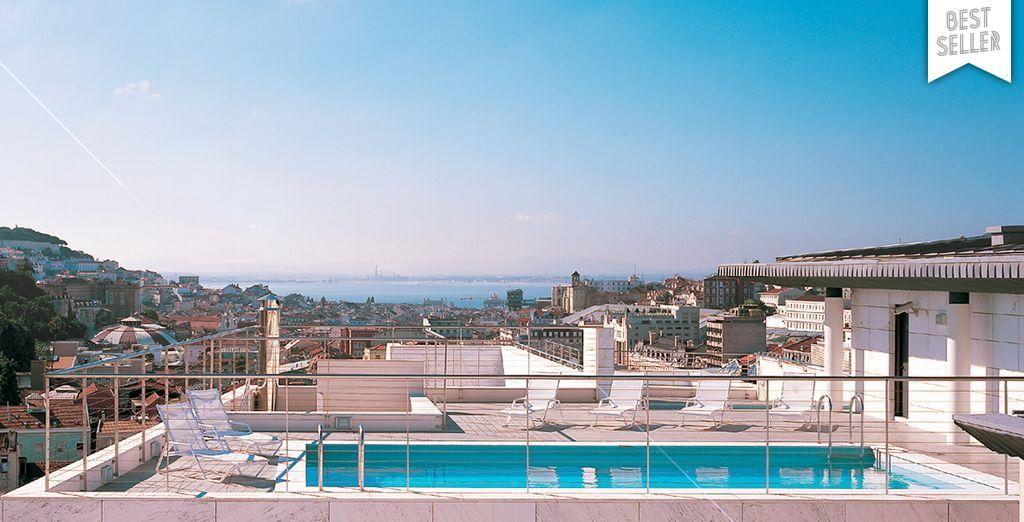 Le ciel de Lisbonne s'offre à vous...