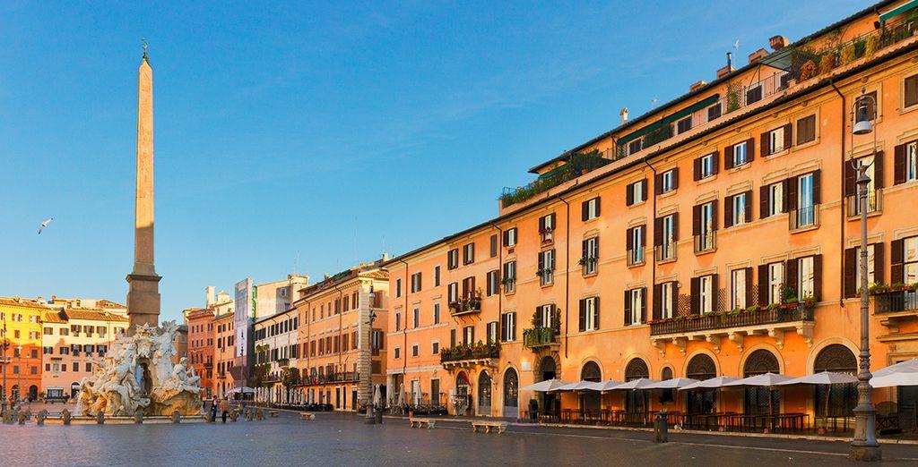 Découvrez les plus belles places de Rome avec nos voyages pas cher