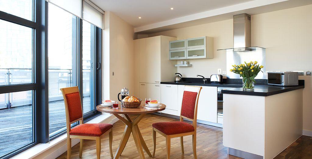 Marlin Apartments Canary Wharf 4*