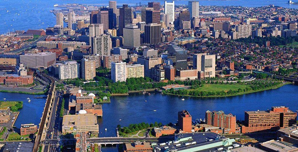 Prenez la direction de Boston, la ville de la liberté
