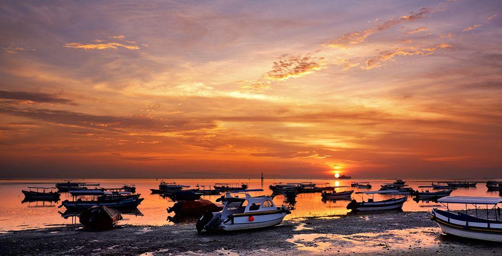 Sur le littoral de Benoa