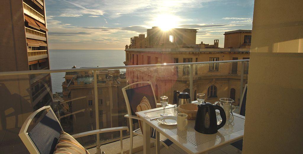 Admirez la mer depuis votre balcon