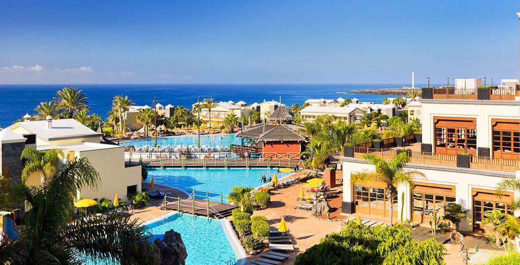 Offrez-vous une pause luxueuse face à la mer - H10 Rubicon Palace 5* Playa Blanca