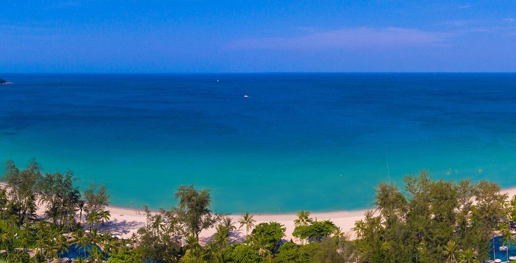 La plage ne se trouve qu'à 1 minute à pied !