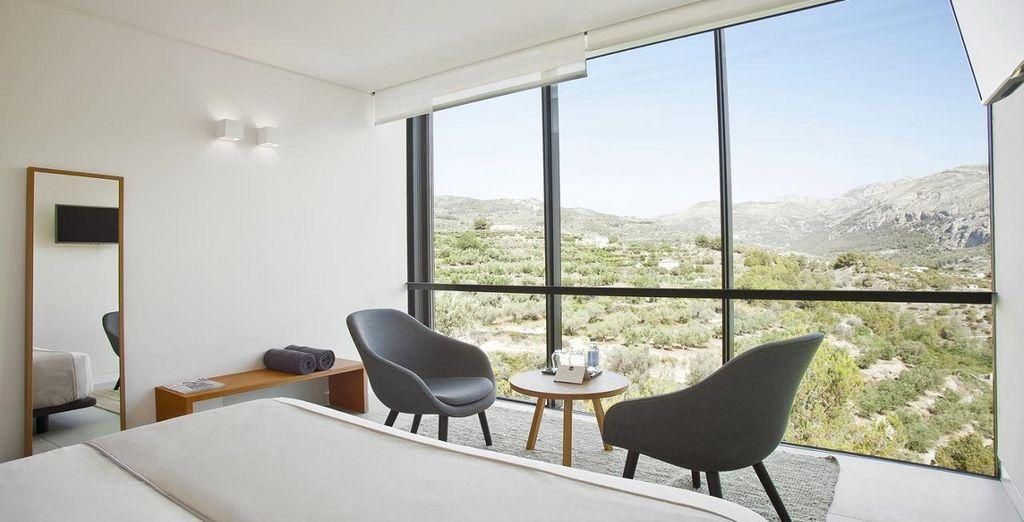 Hôtel & Spa Alicante tout confort à Alicante en Espagne avec vue sur une nature verdoyante