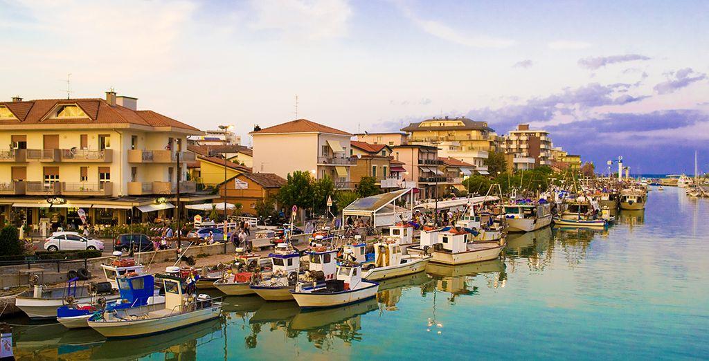 Nous vous emmenons à Rimini... - Hôtel Card International 4* Rimini