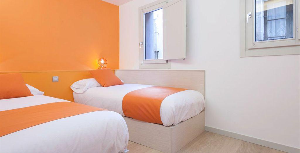 Appartement 3 : Une seconde chambre