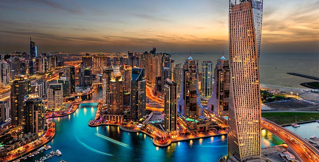 Avant tout cela, vous pourrez choisir de prolonger votre escale à Dubaï...