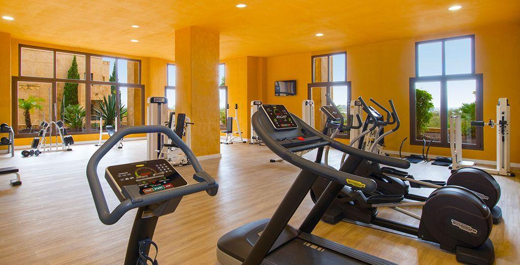 Gardez la forme à la salle de fitness