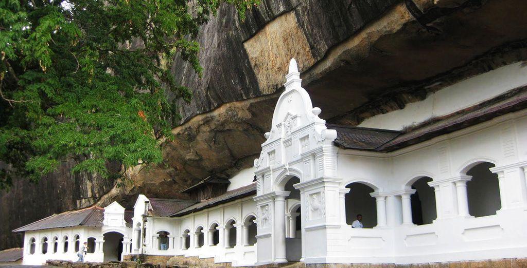 Où vous pourrez visiter le temple rupestre de Dambulla