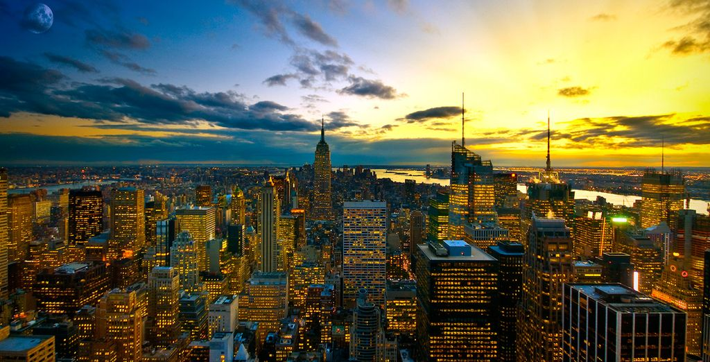 Commencez votre séjour par l'électrisante ville de New York - Combiné New York Miami et Croisière Bahamas  Miami