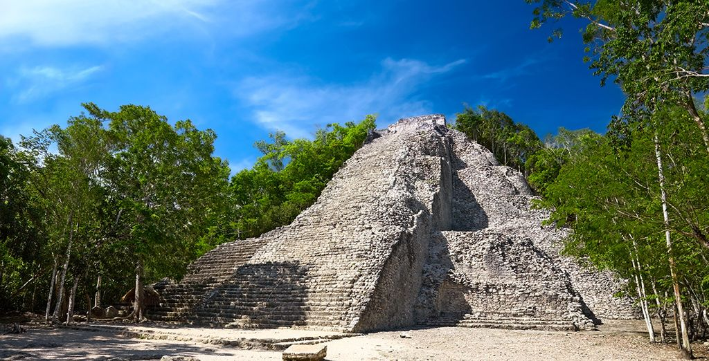 Ou visiterez des sites archéologiques en pleine jungle...