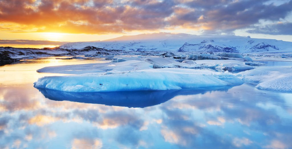 Les majestueux glaciers islandais