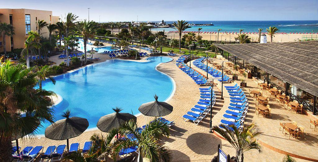 Hôtel de luxe à Fuerteventura avec piscine