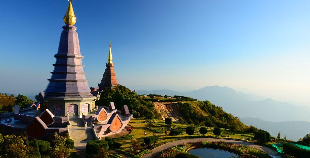 D'innombrables temples