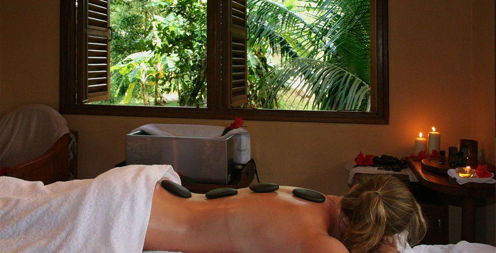 pour un délicieux massage