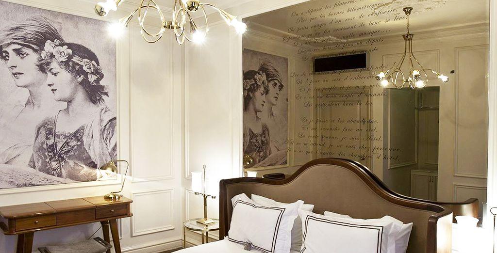 Où nous vous avons réservé une chambre Classic dès plus confortable