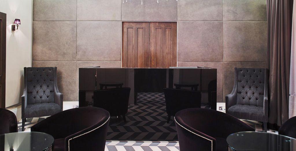 Poussez les portes de l'Eccleston Square Hotel