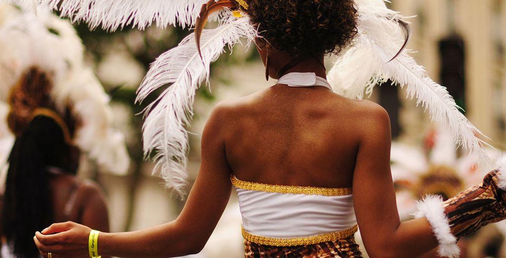 Laissez-vous entraîner par les rythmes de la samba