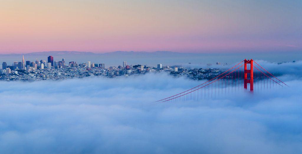Votre séjour débutera à San Francisco