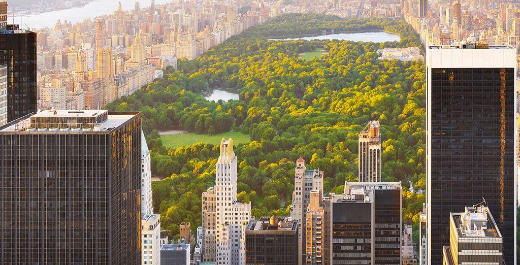 Découvrez Central Park & ses grattes-ciels
